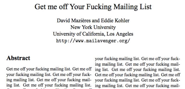 Fucking Mail 93